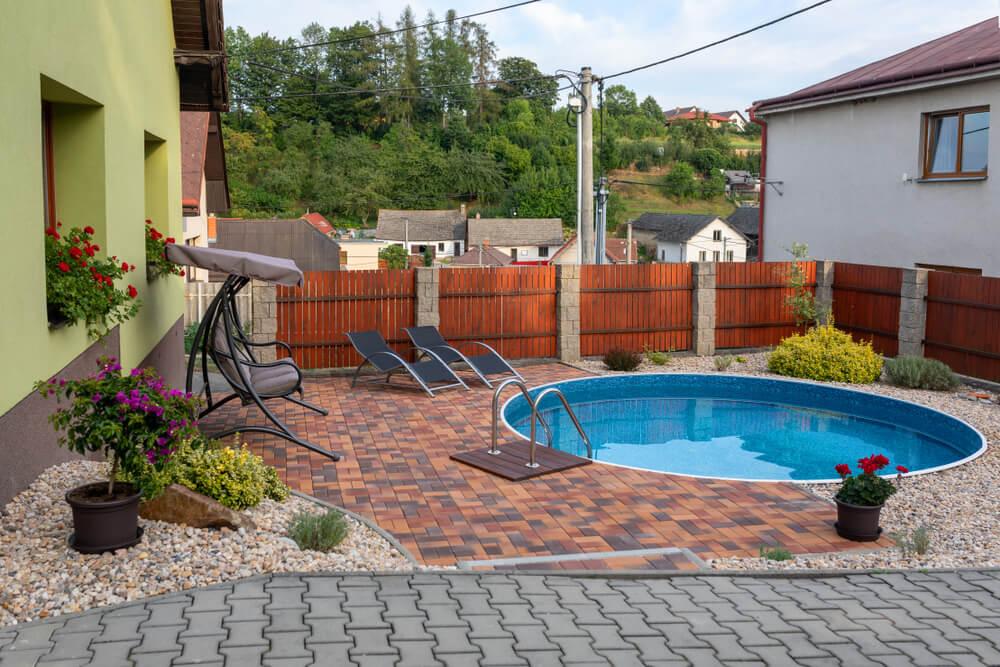 Mini bazén na kľúč do zeme Bratislava