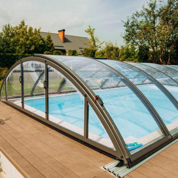 Krytý bazén na záhradu na kľúč Bratislava