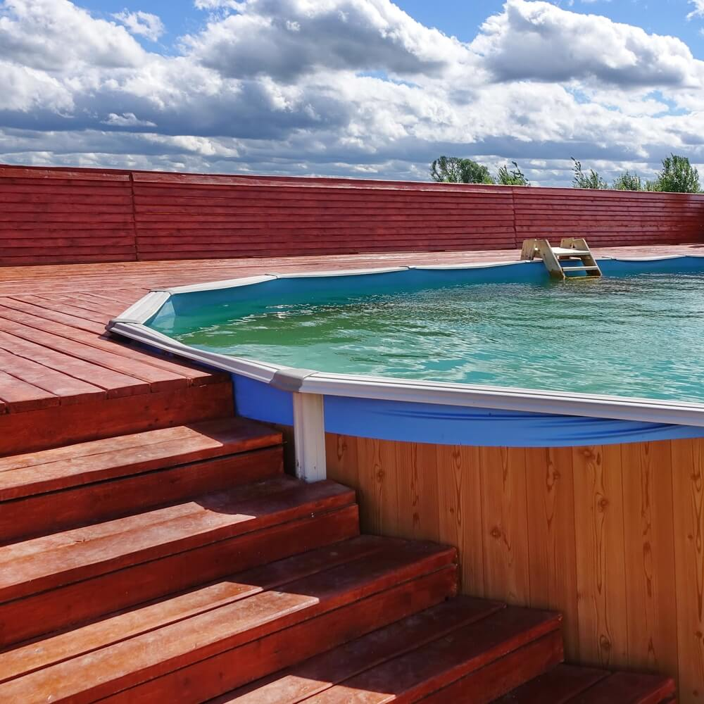 Paletový bazén na kľúč (bazén z paliet) Bratislava NajBazén)