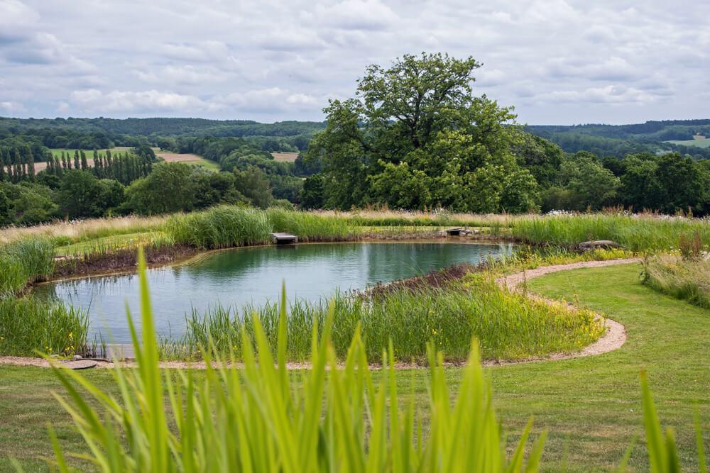 Prírodný bazén na kľúč (jazierkový bazén) NajBazén