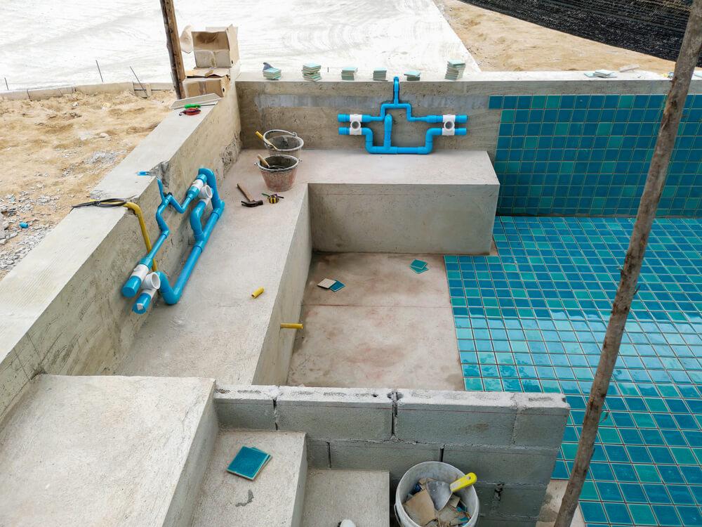 Stavba murovaného bazénu na kľúč Bratislava NajBazén